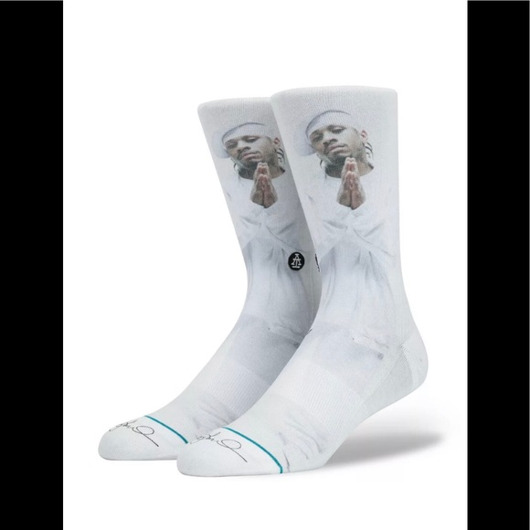 Stance Other - NWT Stance x Allen Iverson The Answer White Socks